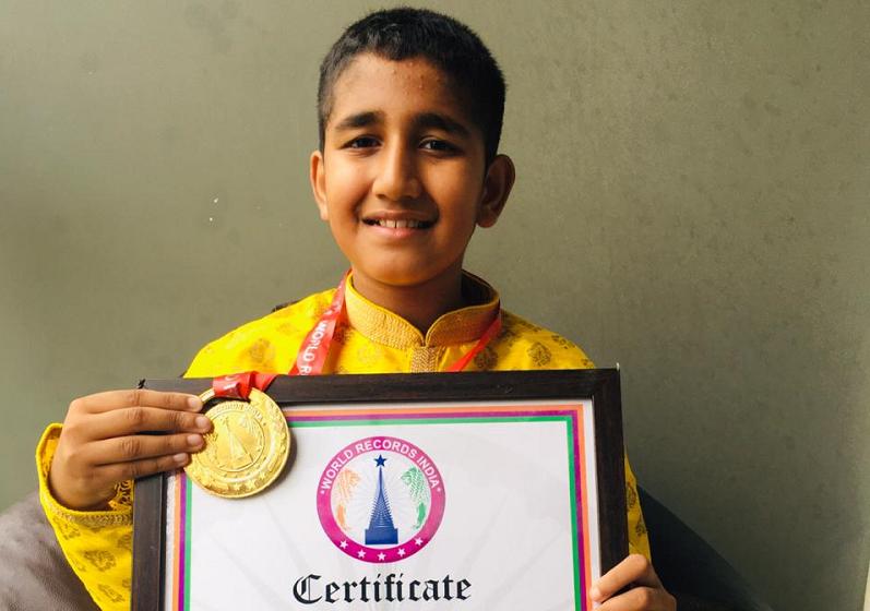 YOUNGEST TO CHANT FULL VISHNU SAHASRANAMAM STOTRAM