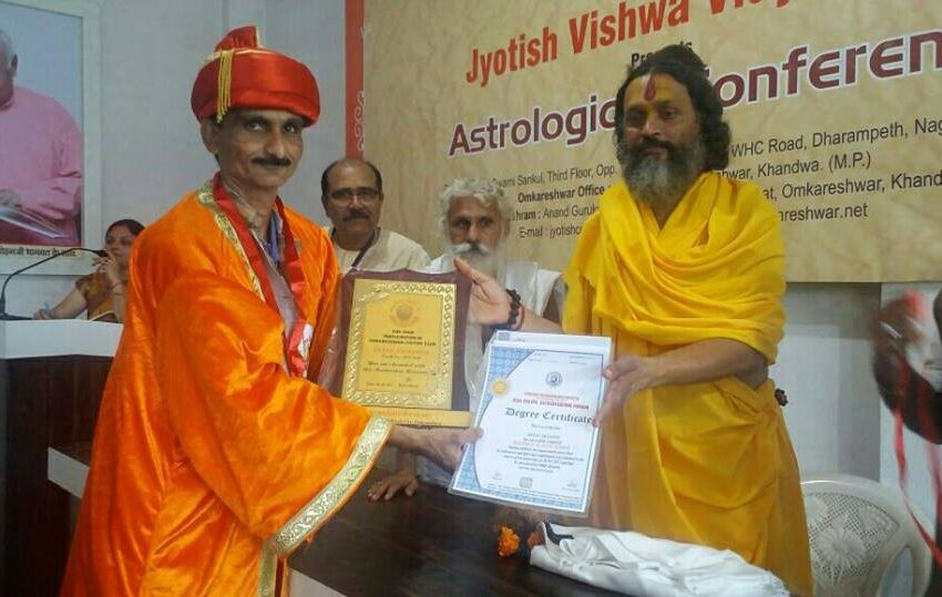 FIRST INDIAN TO ACHIEVE DOCTORATE FOR VAASTU SCIENCE IN PARANORMAL ACTIVITIES
