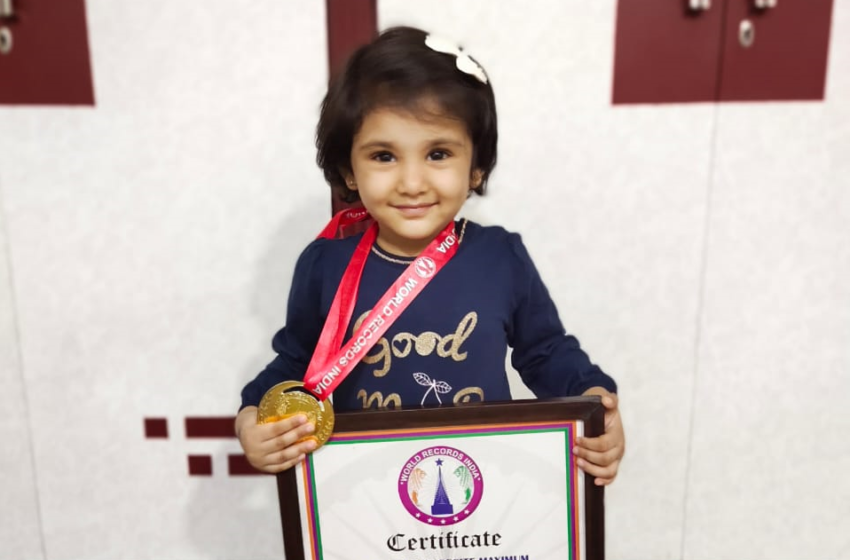 YOUNGEST TO RECITE MAXIMUM COUNTRIES CAPITAL