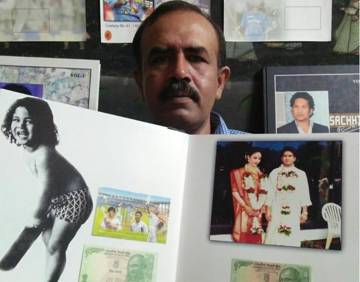 COLLECTION OF FIVE RUPEE CURRENCY NOTE ON SACHIN TENDULKAR CRICKET CENTURIES