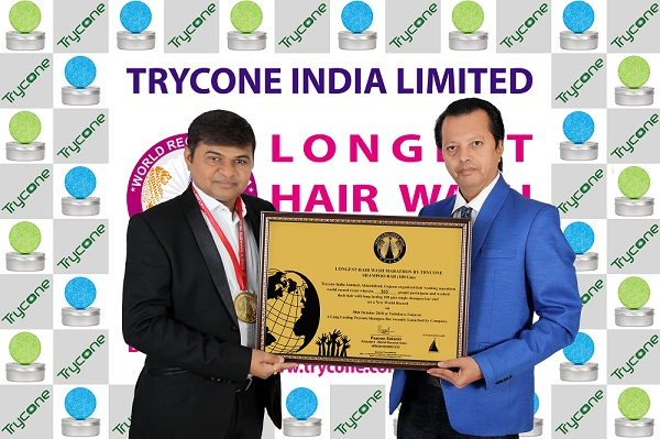 LONGEST HAIR WASH MARATHON BY TRYCONE SHAMPOO BAR
