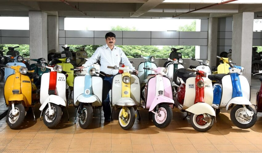 LARGEST COLLECTION OF VINTAGE TWO-WHEELERS