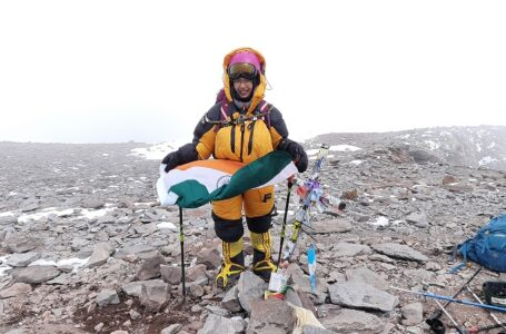 YOUNGEST GIRL IN THE WORLD TO SUMMIT MT.ACONCAGUA (6962 M)