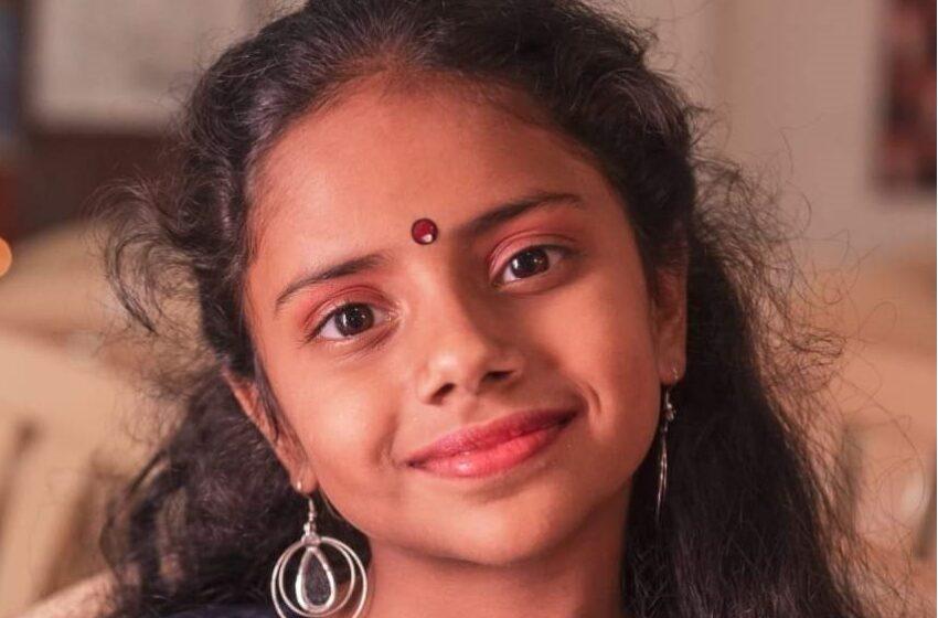 YOUNGEST GIRL TO RECITE VISHNU SAHASRANAMAM ALONG WITH DHYANA SHLOKA AND PHALASRUTHI