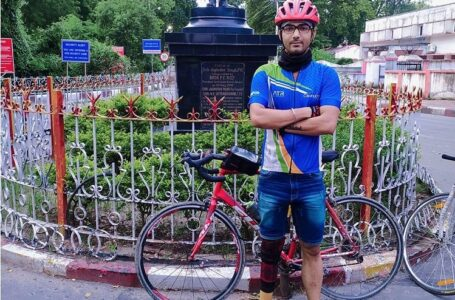 LONGEST CYCLING MARATHON WITH PROSTHETIC LIMB