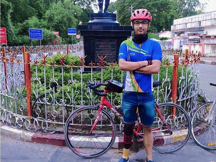 LONGEST CYCLING MARATHON WITH PROSTHETIC LIMB