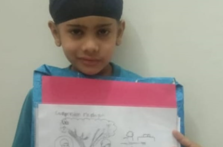 MAXIMUM PENCIL SKETCHES ON SIKHISM BY A KID
