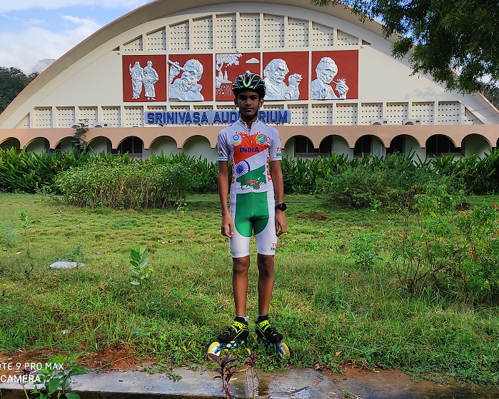 "YOUNGEST TO PERFORMED""COMBO MARATHON"" – DUAL HALF MARATHON IN CYCLING AND SKATING"