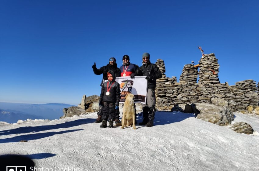 FIRST MALE RECOVERED FROM COVID-19 TO SUMMIT KEDARKANTHA PEAK (12500 FEET)