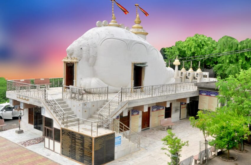 WORLD'S FIRST TEMPLE IN SHANKHA AAKAR (CONCH SHELL SHAPE)