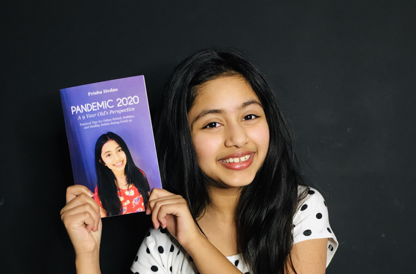 FIRST YOUNG GIRL AUTHOR TO PUBLISHED BOOK ON PANDEMIC 2020.