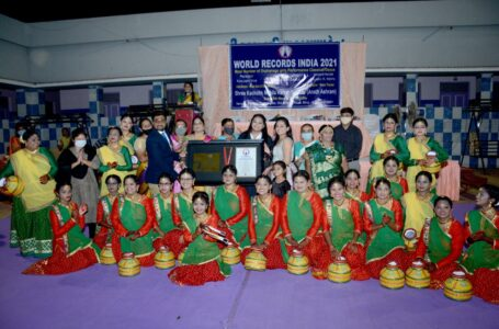 MOST NUMBERS OF ORPHANAGE GIRL PERFORMED CLASSICAL DANCE