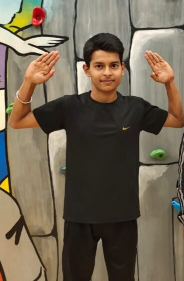 YOUNGEST TO PERFORMED FASTEST JUMPING JACKS IN ONE MINUTE