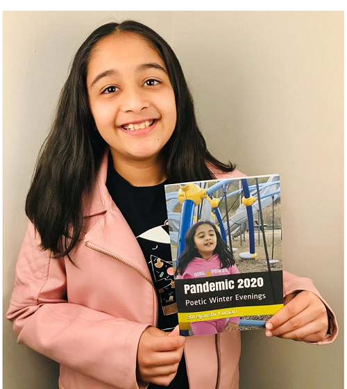 YOUNGEST AUTHOR TO PUBLISH A POETRY BOOK FOR KIDS
