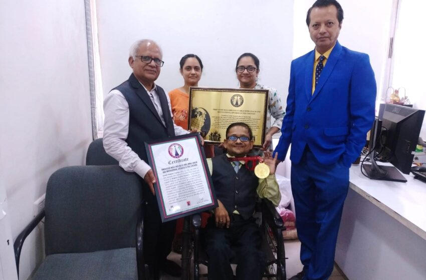 FIRST-EVER MALE SPECIALLY ABLE MIND COACH AND MOTIVATIONAL SPEAKER IN THE COUNTRY