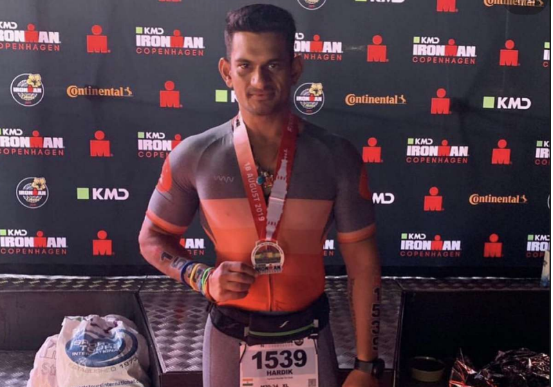 FIRST-EVER INDIAN TO COMPLETE MAXIMUM IRONMAN (TRIATHLONS) IN A SINGLE YEAR