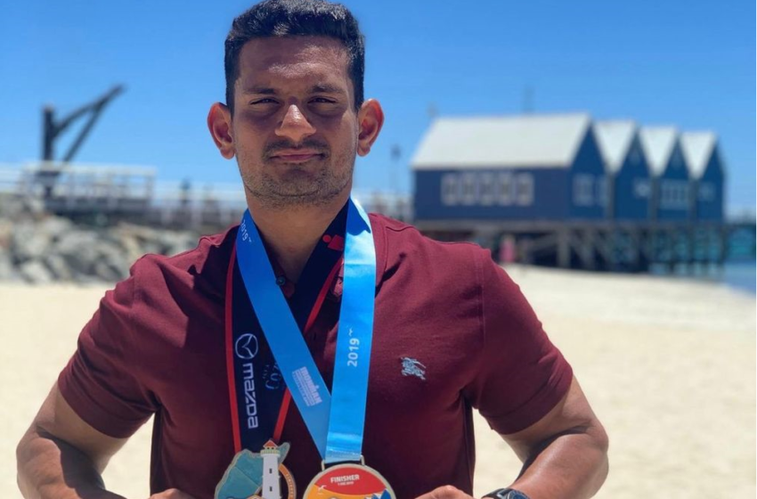 FIRST-EVER INDIAN TO COMPLETE TWO IRONMAN (TRIATHLONS) IN TWO WEEKS